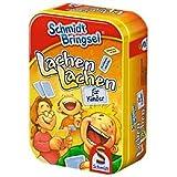 Schmidt Bringsel 51055 - Auswahl eines Spiels (Lachen lachen, Mensch ärgere dich nicht, Schiffe...