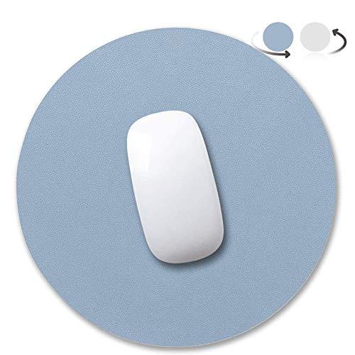 Anmete Alfombrilla para ratón de piel sintética de 250 mm, antideslizante, para videojuegos, para ordenador portátil, PC, oficina Apple