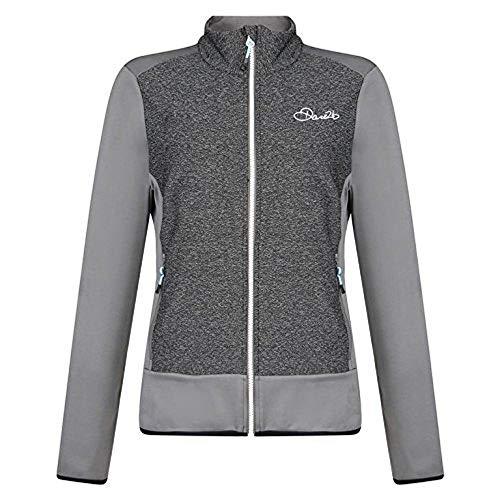Dare 2b Damen steigen Core STR Stretch Midlayer Sweatshirts S Smokey/Charcoal
