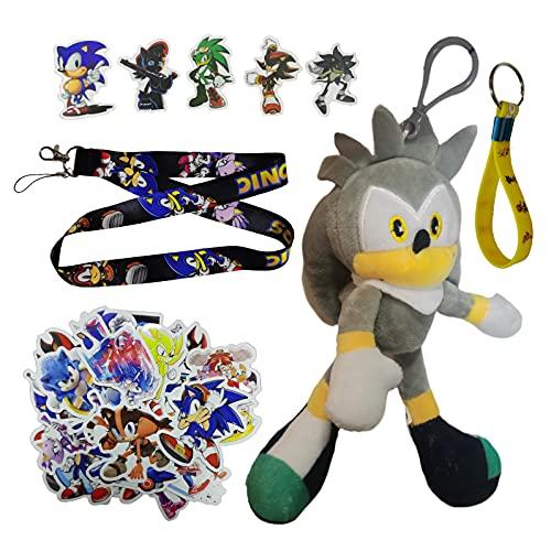 Sonic Pendants El nuevo ratón supersónico sónico super sonic 2 peluche Tarsnak erizo muñeca