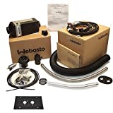 Webasto Air Top 2000 STC Gasoline Petrol Heater Kit with Rotary Control and Flat Mounting Plate