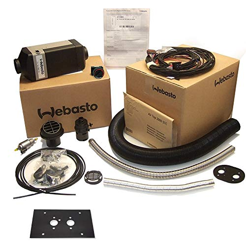 Chauffage à carburant Webasto Kit complet Air top Heater 2000 STC