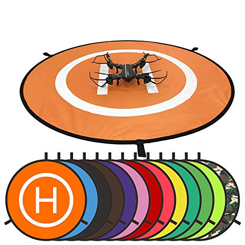 75 cm Drohnen Helicopter Landing Pad Landing Platform Landing Pad Platform Dronepad Helipad heliport Pad for RC Drohnen Quadcopter DJI Phantom Phantom 4 3 2 1 Inspire Protective Accessories