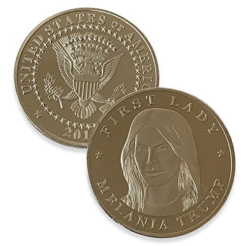 Melania Trump Commemorative Coin – Donald Trump Coin Collection 2017 – Flotus – First Lady – MAGA