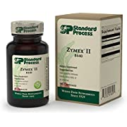 Standard Process - Zymex II - Contains Digestive Enzymes, Encourages Healthy Intestinal Environment and Proper Gastrointestinal Flora, Gluten Free - 150 Capsules