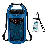 Piscifun Wasserdicht Dry Bag Rucksack Schwimm Dry Rucksack für Wassersport - Angeln Bootfahren...