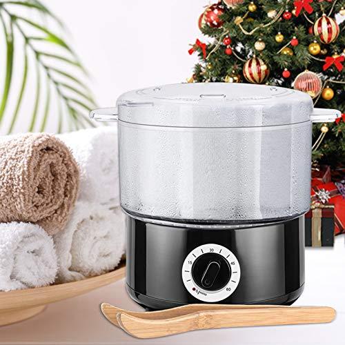 KKTECT - Vaporizador de Toallas, Calentamiento rápido, desinfección de Toallas, Piedras de Masaje calentadas, Paquete de aromaterapia para el hogar, salón de Belleza y peluquería,SPA