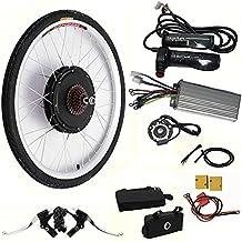 Kit de conversión para bicicleta eléctrica, 48 V, 1000 W, 26 pulgadas