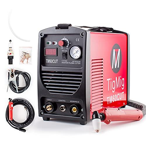 TAGLIO PLASMA INVERTER TIGMIG TM 60 CUT HF TAGLIO 16 MM COMPLETA DI ACCESSORI