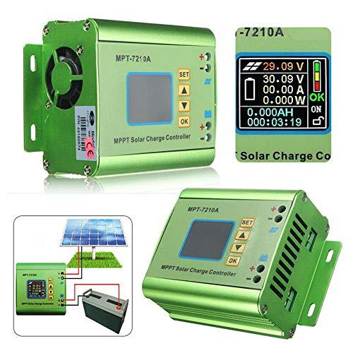 10A MPPT Solarladeregler Fit für 24V 36V 48V 60V 72V Lithium-Batterie-Bank Solar Systems Regler mit LCD-Display
