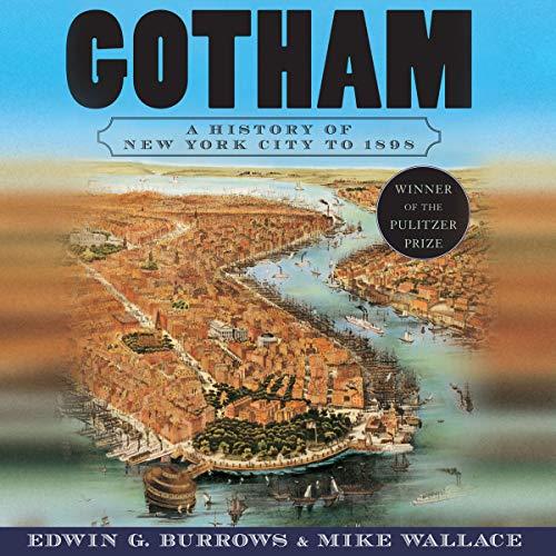 Gotham audiobook cover art