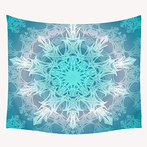 jtxqe Tapiz Decorativo Manta Toalla de Playa Casa Resistencia Pintura para el hogar Manta de Pared Mandala Simple 75x87cm