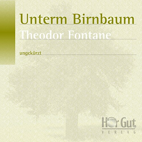 Unterm Birnbaum audiobook cover art