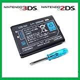 CostBuy 3.7V 1300mAh Replacement Lithium Battery for Nintendo 3DS w/ Screwdriver