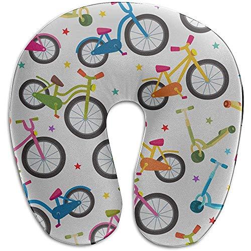 Warm-Breeze Nackenkissen Fahrrad Rad Radspiel Sport U-förmiges Memory Foam Nackenkissen