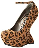 dollhouse Women's Confession, Natural Leopard, 7 M US