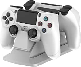 Best dualshock 4 charging station white Reviews
