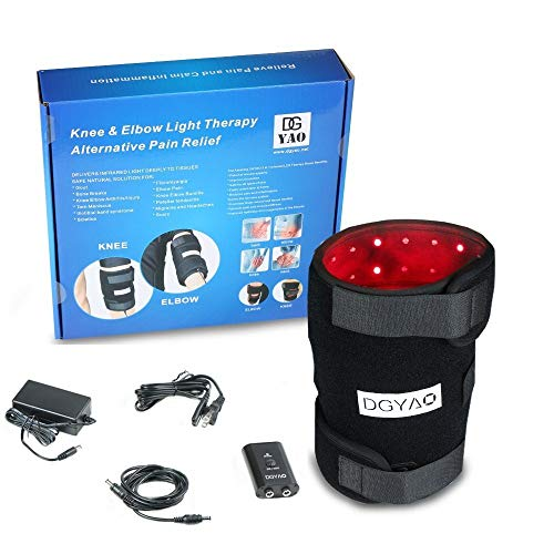 Review Of Red Light Therapy for Knee Elbow Arthrosis Pain Relief(88 pcs 660nm red Light and 88 pcs...
