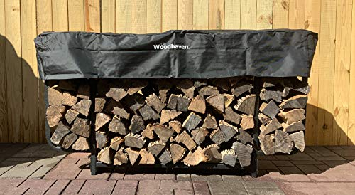 Why Should You Buy Woodhaven The 6 ft Courtyard Firewood Rack
