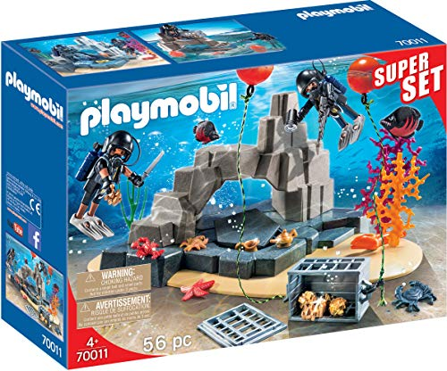 Playmobil 70011 SuperSet SEK-Taucheinsatz, bunt