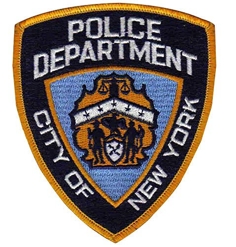 City of New York Police Department Patch - NYPD Sew-On Patch - New York Police Patch