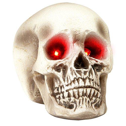 Widmann Generique - Crâne Yeux Lumineux Halloween