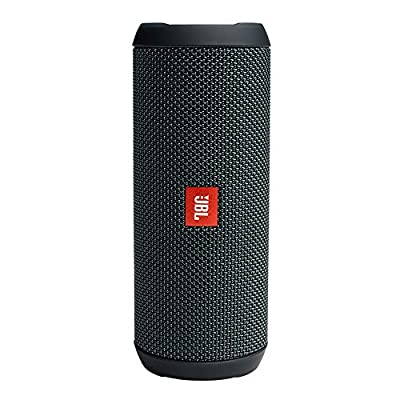 JBL Flip Essential Portable Bluetooth Speaker with Rechargeable Battery, Gun Metal Black from Harman