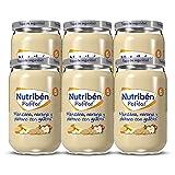 Nutribén Potitos De Manzana, Naranja, Plátano Y Galleta Desde Los 6 Meses Pack de 6 x 235gr