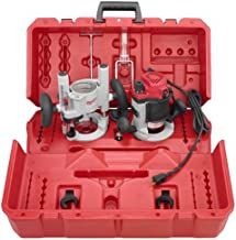 Milwaukee 5616-24 2-1/4 Max-Horsepower EVS Multi-Base Router Kit Includes Plunge Base and..