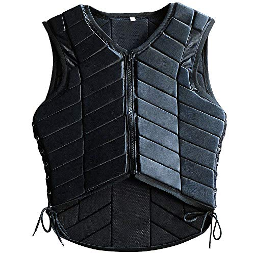 HILASON Large Equestrian Horse Vest Safety Protective Adult Eventing