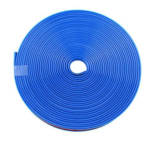 ihreesy Universal Felgenschutz,8m 26ft Länge Felgen Schutzring Gummi Felgenstyling Felgenband Selbstklebende Felgenrandaufkleber Felgenrand Protector Radring Reifen Styling Zubehör,Blau