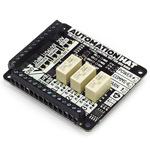 Automation HAT - Übernehmen Sie und überwachen Sie Ihre Welt mit unserem ultimativen multitalentierten Raspberry Pi HAT!