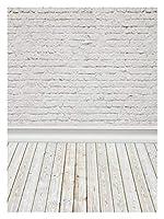 RUIMA グレーセメントホワイト壁面ウッドフロアバースデードール肖像写真の背景写真の背景 (Color : NYH00164, Size : Polyester 150x220cm)
