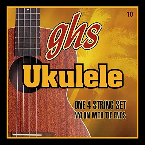 GHS Strings 10 set, Hawaiian D-tuning Ukulele Strings