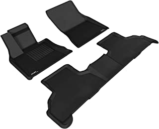 Tapis DE Sol en Caoutchouc 3D Exclusive Compatible avec BMW X6 E71 2009-pr/és 3pcs J/&J AUTOMOTIVE