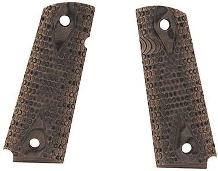 Hogue 45737 Colt 1911 Government B Grips G10 Max 52% OFF Low price G-Mascus Piranha