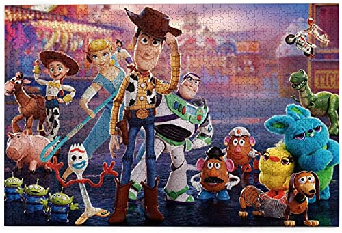 yeeatz D-is-ney T-OY Story Puzzle 1000 Piece Jigsaw Puzzle Kids Adult 29.72×19.8 inches-1