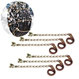 Juhuitong Car Tire Snow Chains Universal Stainless Steel Tyre Snow Chain Anti-skid Emergency