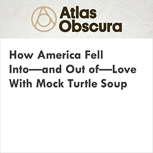 How America Fell Into—and Out of—Love With Mock Turtle Soup audiobook cover art
