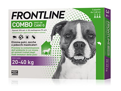 FRONTLINE COMBO CANE 20 40 KG ANTIPULCI ANTIZECCHE