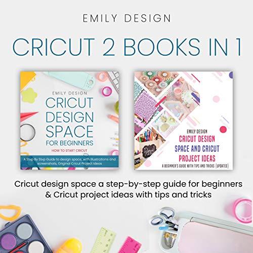 Cricut: 2 Books in 1 cover art