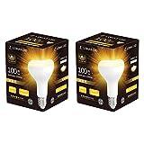 【さらに50%OFF!】ロハスエルイーディー LDR10L-LH - E26口金レフランプ形 密閉形器具対応LED電球2個セット