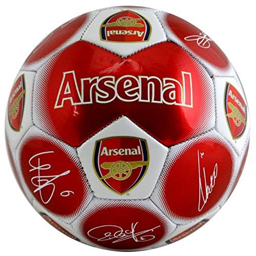 FUSSBALL FUßBALL BALL Gr 5 FC ARSENAL LONDON Autogramme