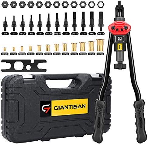 Giantisan 16 Rivet Nut Tool Professional Rivet Nut Tool Setter Kit Including 12 Metric and SAE product image