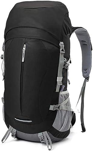 Knapsack sac à dos sac à dos Sac à Dos De Voyage Extérieur De Grande Capacité 50L   60L Sac à Dos De Randonnée Ultra-léger ZHAOYONGLI (Couleur   Noir, Taille   50L)