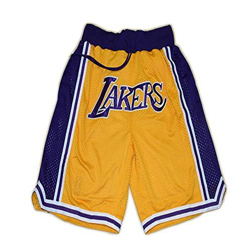 ZXZXING Shorts de Baloncesto Lakers Bulls Grizzlies Warriors Heat Shorts Shorts Deportivos para Hombres y Mujeres