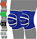 EMRAH Knee Pads with Heavy Duty Foam Padding and Comfortable Gel Cushion Cap Protector- X