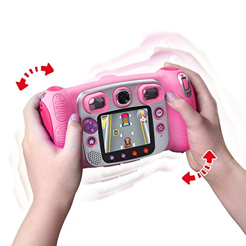 VTech Kidizo   om Duo Selfie Camera, Amazon Exclusive, Pink, Great Gift for Kids, Toddlers, Toy for Boys and Girls, Ages 3, 4, 5, 6, 7, 8, 9