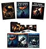 Ultimate Dark Knight Trilogy DVD Collection: Batman Begins / The Dark Knight / Dark Knight Rises with Postcards, Flash Drive, Two-Face Coin, Comic Book & More [Christopher Nolan Batman Set]