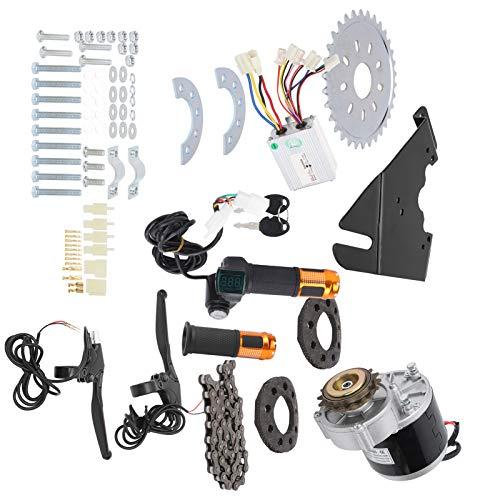 電動自転車モーターキット、36V 350W自転車ブラシモーターコントローラーキット22‑28インチ普通自転車用自転車変換キットアクセサリー